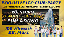 Exklusive ICX-Club-Party von medentis medical